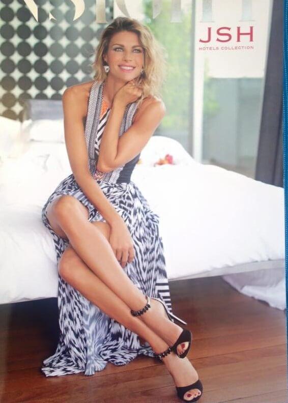 Martina Colombari, copertina