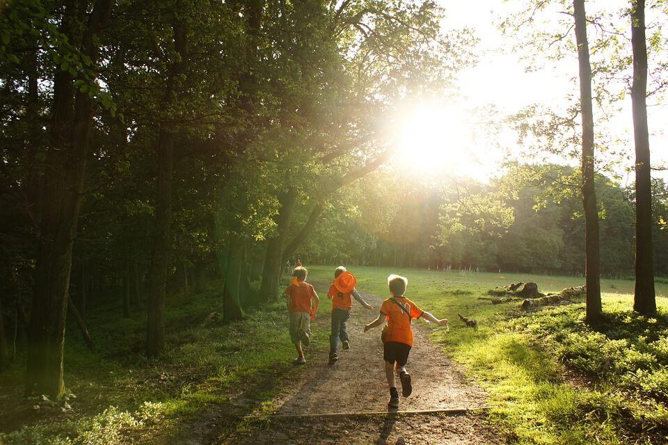running bambini
