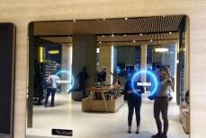 palestra hi.tech , parete monitoraggio fitness. foto di Agnese Ferrara
