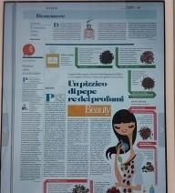 Un pizzico di pepe re dei profumi, di Agnese Ferrara , La Repubblica 17 settembre 2017
