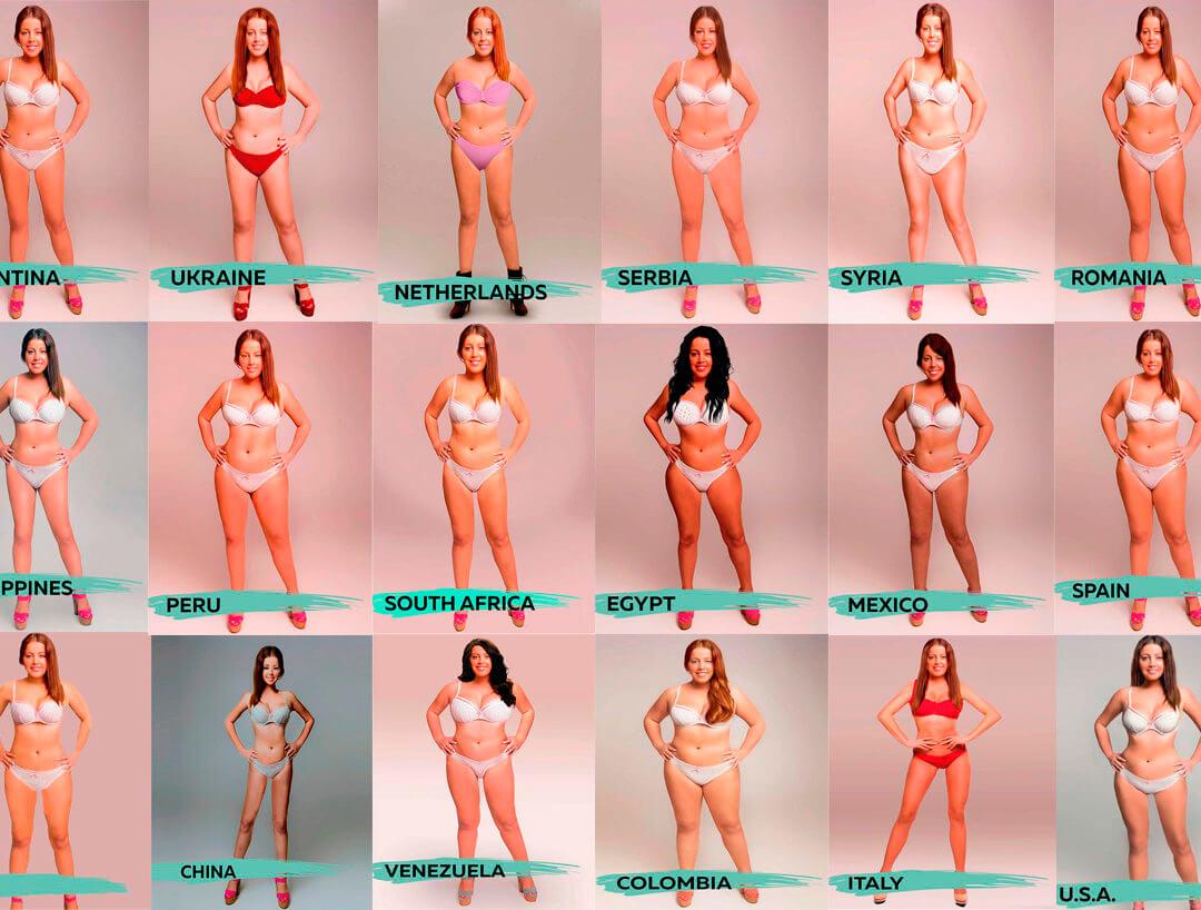 La bellezza delle donne, secondo le donne. Per italiane magrezza e 49 kg peso ideale.