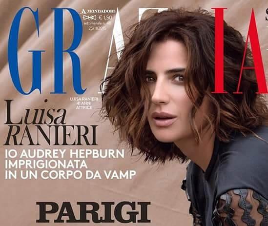 Luisa Ranieri, idee per addolcire il viso con colore e piega. Trend inverno 2015