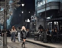 Anita Caprioli e Valeria Solarino, attrici eleganti e rock alla sfilata Chanel di Roma