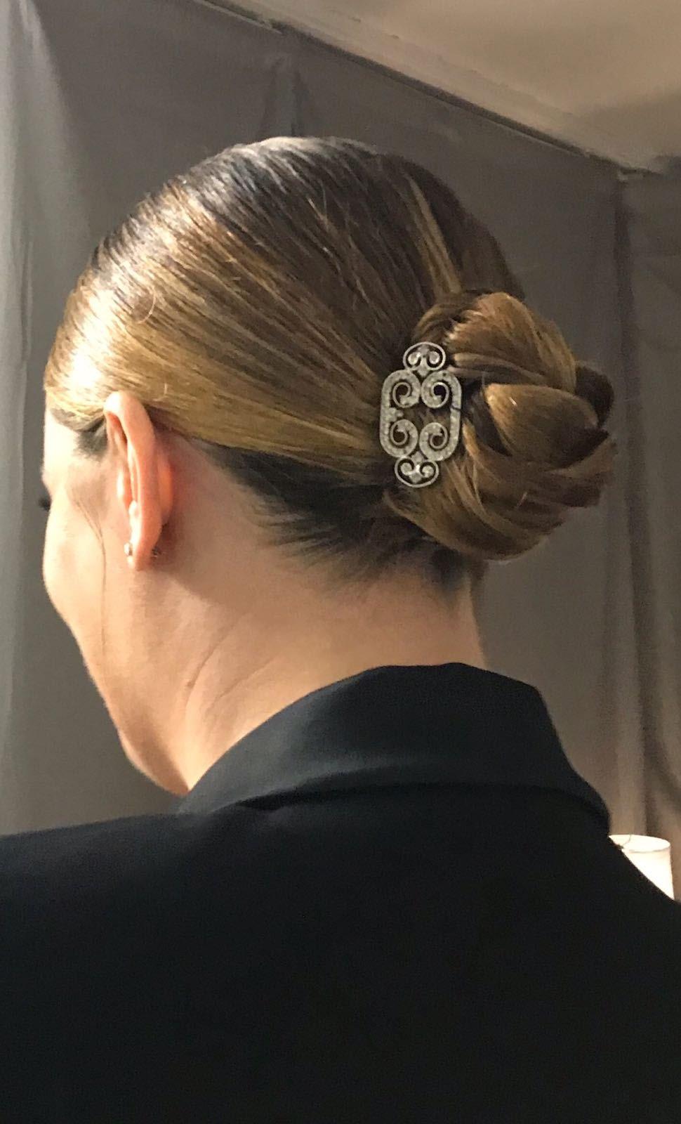 Vanessa-Incontrada-chignon-2-Domenica-Ricciardi