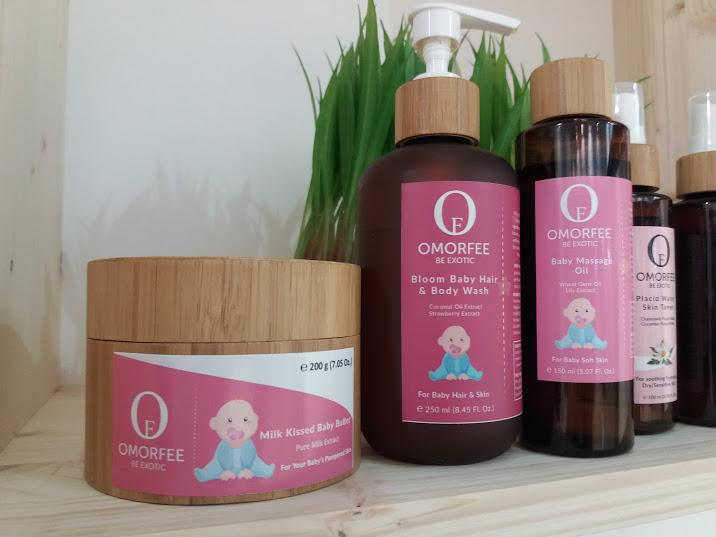 Cosmesi per bebè, organica e pura , dall'India ingredienti esotici ed organici, da area indie beauty green al Cosmoprof