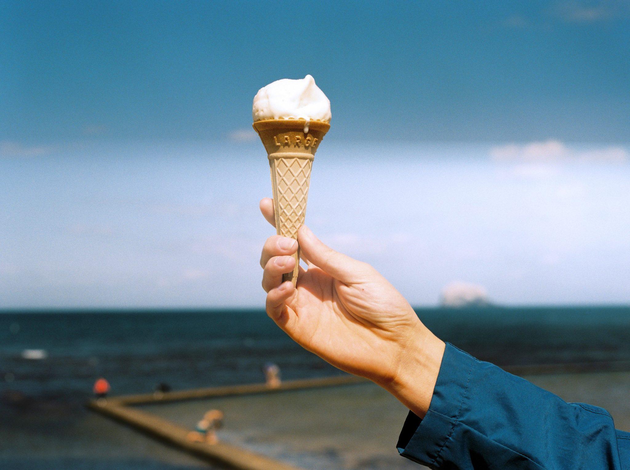 Un gelato dopo l'allenamento è un ottimo integratore