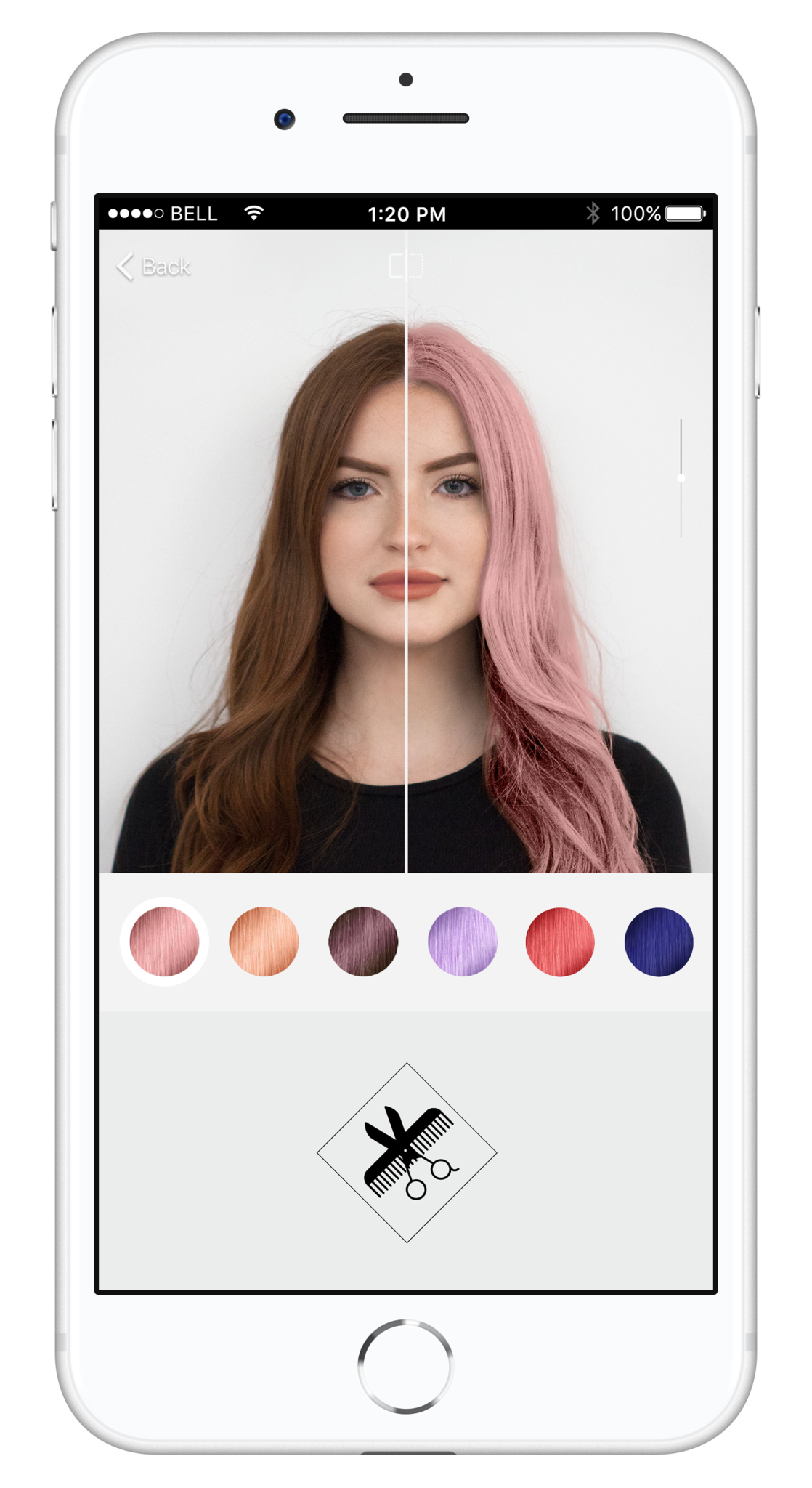 app Style My Hair, per la Notte bianca hair fashion night 2018