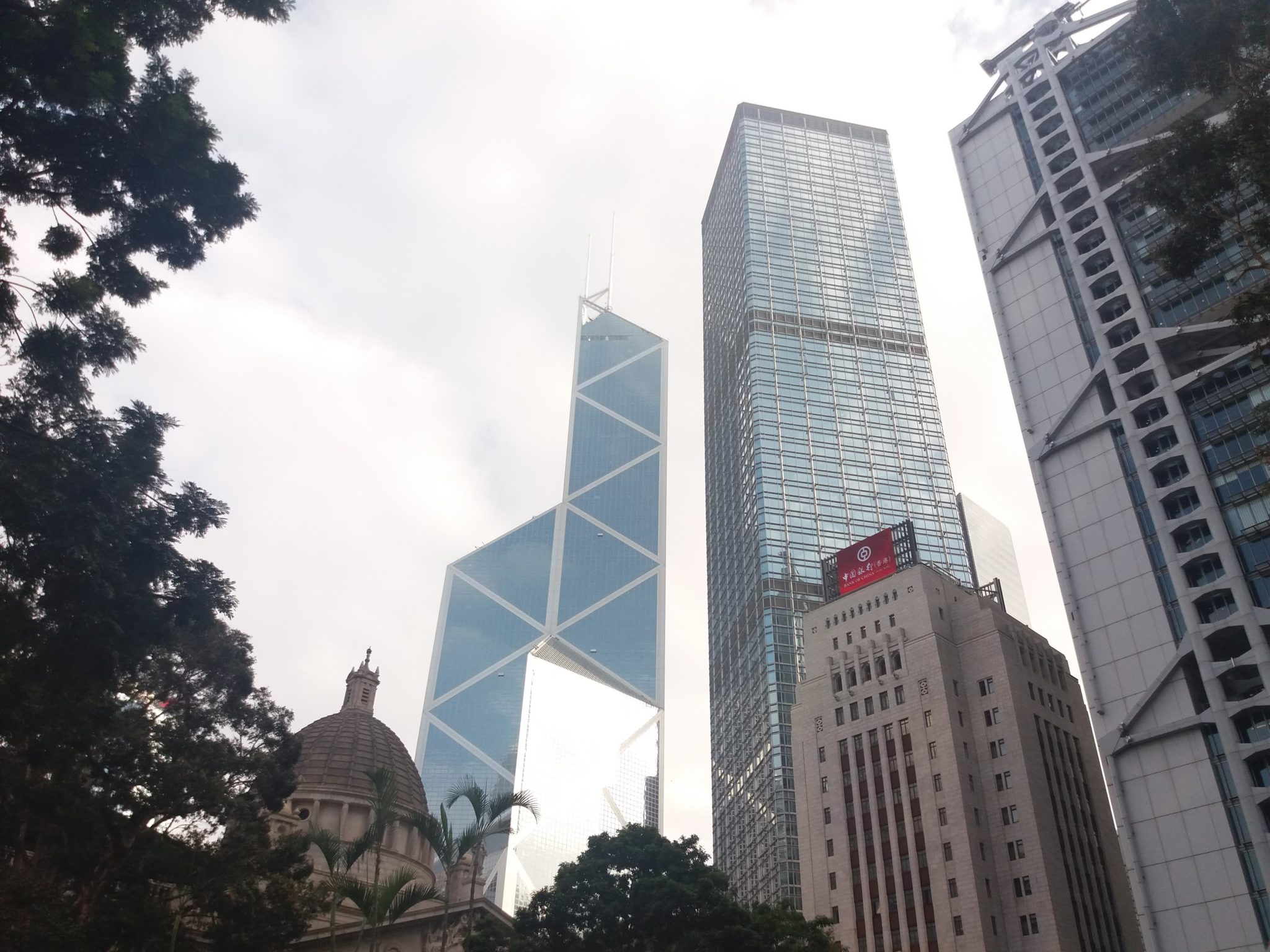 Grattacieli a Central, Hong Kong