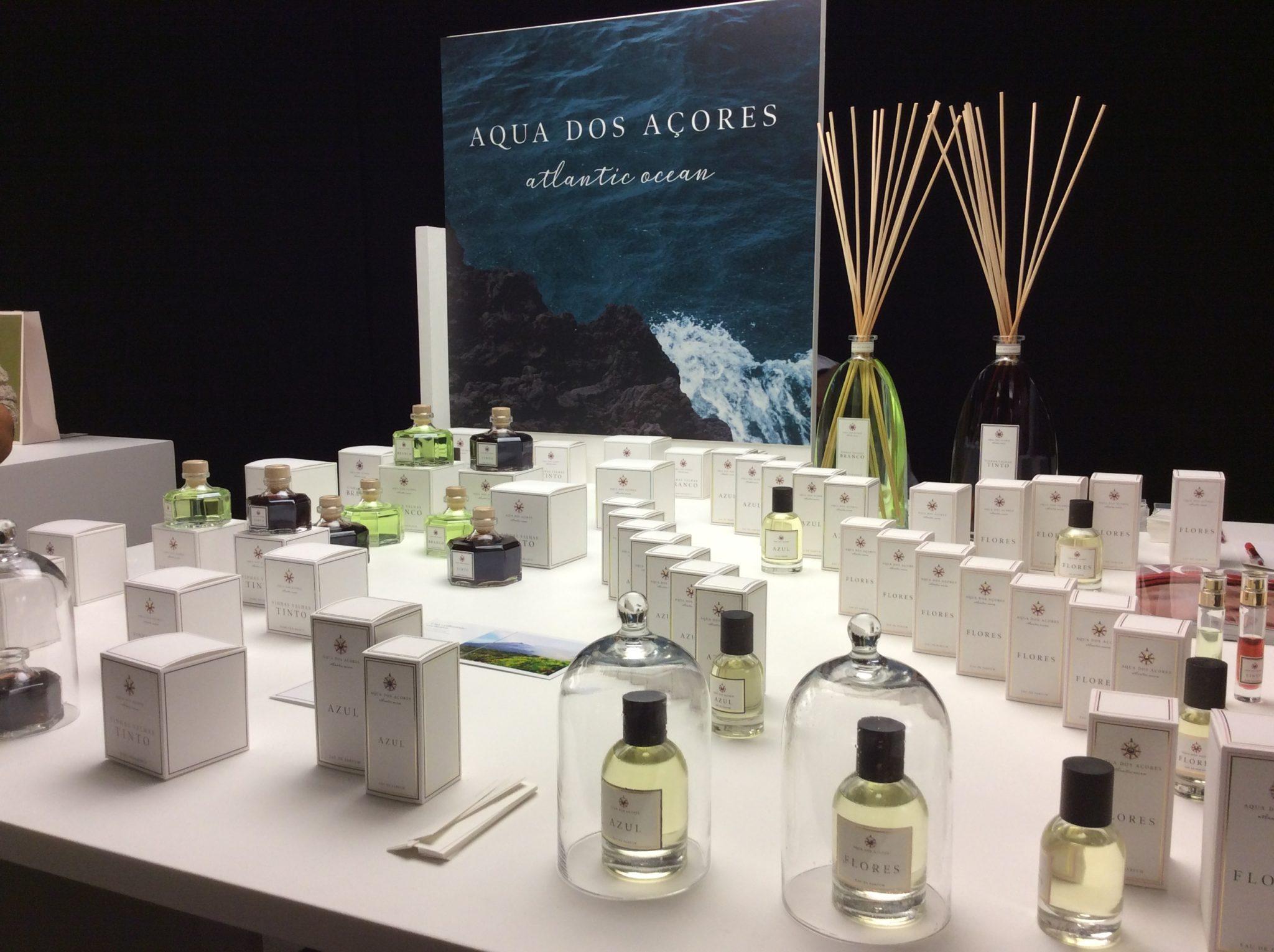 Aqua Dos Acores, linea di fragranze con essenze delle isole Azzorre, a Pitti Fragranze 2019